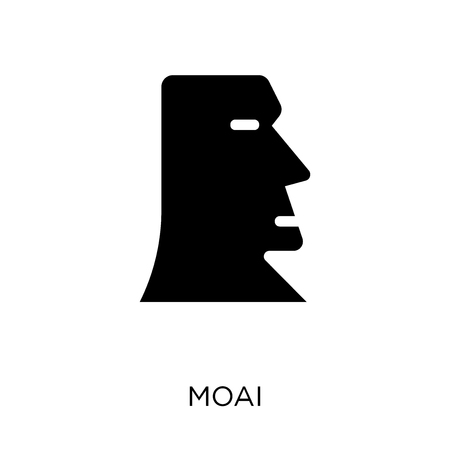 Moai icon. Moai symbol design from Architecture collection. Simple element vector illustration on white background.