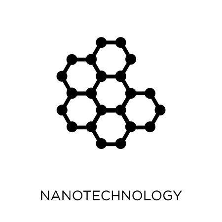 Nanotechnology icon. Nanotechnology symbol design from Future technology collection.