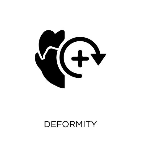 Deformity icon. Deformity symbol design from Artificial Intellegence collection. Illustration