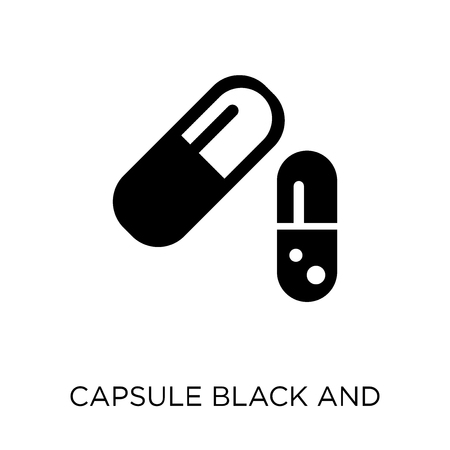 Medication black and white variant icon and symbol design from Human Body Parts collection.