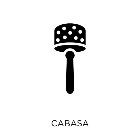 Cabasa icon. Cabasa symbol design from Music collection. Simple element vector illustration on white background. Illustration