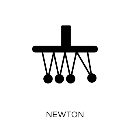Newton icon. Newton symbol design from Science collection. Simple element vector illustration on white background. Illustration