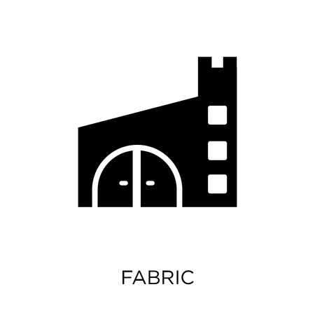 Fabric icon. Fabric symbol design from Sew collection. Simple element vector illustration on white background.
