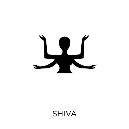 Shiva icon. Shiva symbol design from Religion collection. Simple element vector illustration on white background.