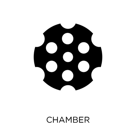 Chamber icon. Chamber symbol design from Army collection.
