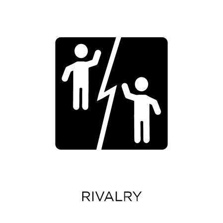 Rivalry icon. Rivalry symbol design from Startup collection. Simple element vector illustration on white background. Illustration