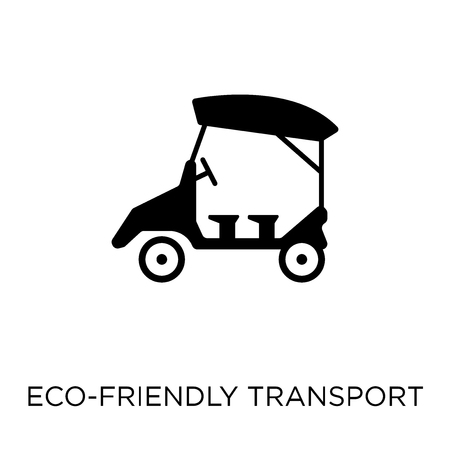 eco-friendly transport icon. eco-friendly transport symbol design from Transportation collection.