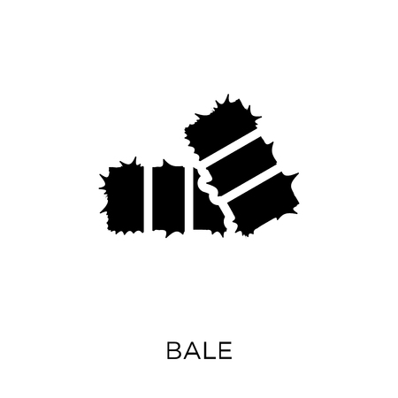 Bale icon. Bale symbol design from Agriculture, Farming and Gardening collection. Simple element vector illustration on white background.