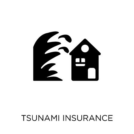 Tsunami coverage icon and symbol design from coverage collection.