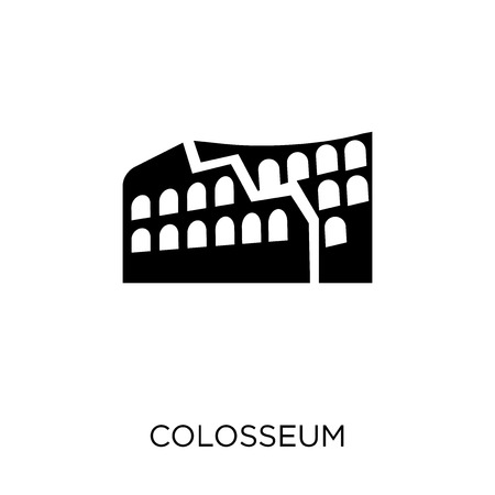 Colosseum icon. Colosseum symbol design from Architecture collection. Simple element vector illustration on white background.