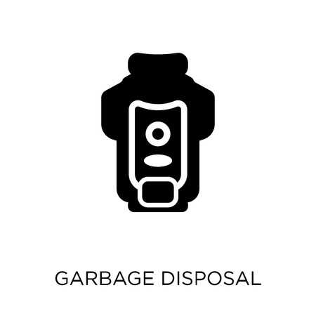 garbage disposal icon. garbage disposal symbol design from Electronic devices collection.