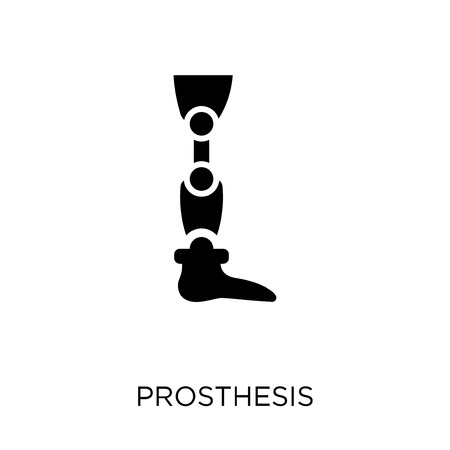 Prosthesis icon. Prosthesis symbol design from Future technology collection.
