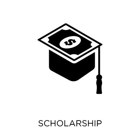 scholarship icon. scholarship symbol design from Education collection. Stock Illustratie
