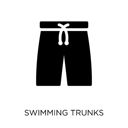 Swimming trunks icon. Swimming trunks symbol design from Summer collection. Simple element vector illustration on white background.