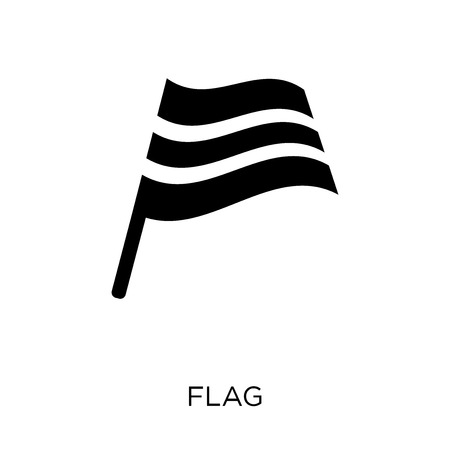 Flag icon. Flag symbol design from Web navigation collection. Simple element vector illustration on white background.