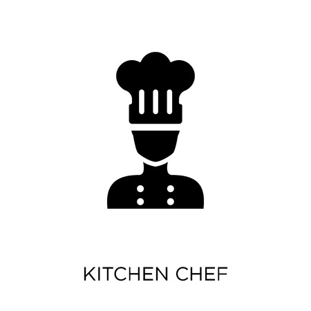 Kitchen chef icon. Kitchen chef symbol design from People collection. Simple element vector illustration on white background.