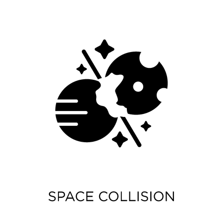 Space Collision icon. Space Collision symbol design from Astronomy collection.