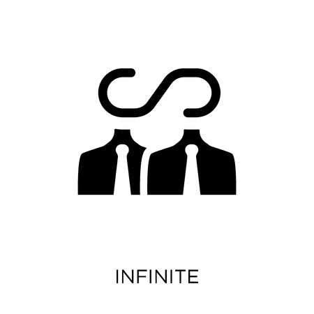 Infinite icon. Infinite symbol design from Time managemnet collection. 向量圖像