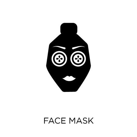 Face mask icon. Face mask symbol design from Hygiene collection. Simple element vector illustration on white background.