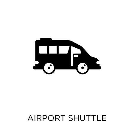 airport shuttle icon. airport shuttle symbol design from Transportation collection.