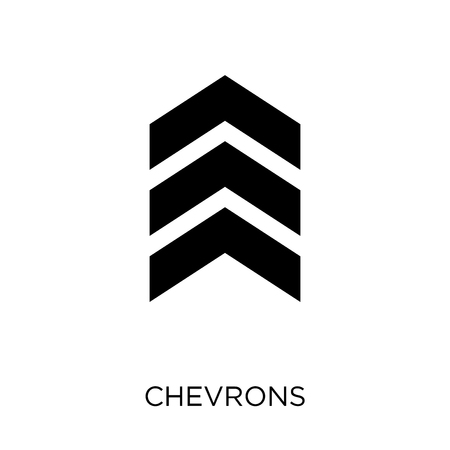 chevrons icon. chevrons symbol design from Army collection.
