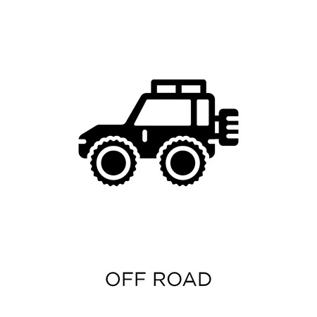Off road icon. Off road symbol design from Transportation collection.