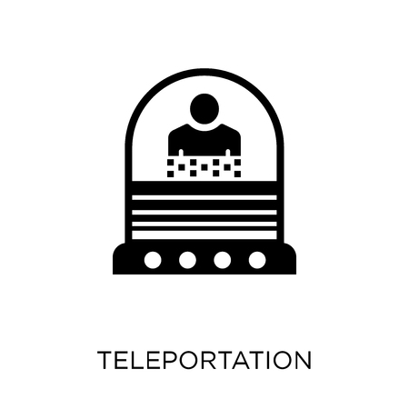 Teleportation icon. Teleportation symbol design from Future technology collection.