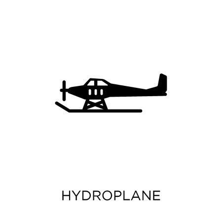 hydroplane icon. hydroplane symbol design from Transportation collection. Banque d'images - 111972463