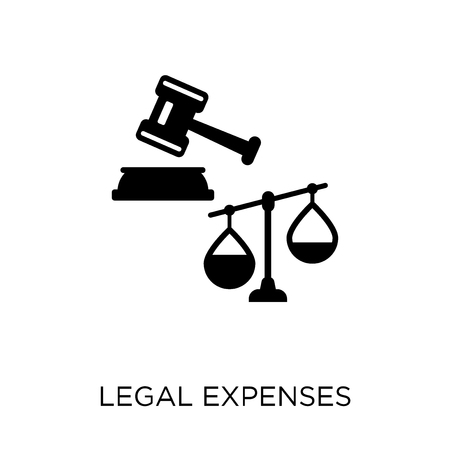 legal expenses icon. legal expenses symbol design from coverage collection.