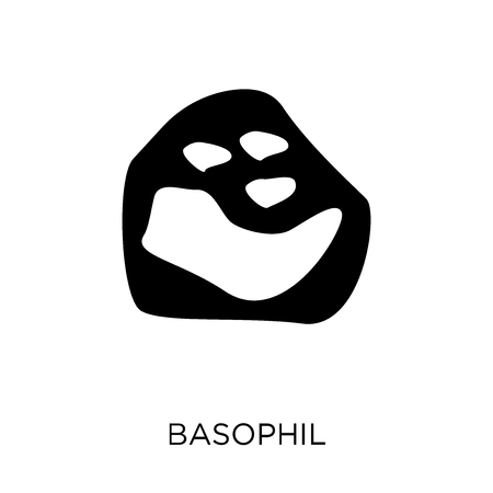 Basophil icon. Basophil symbol design from Human Body Parts collection. Illustration