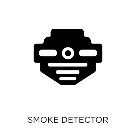 smoke detector icon. smoke detector symbol design from Electronic devices collection.