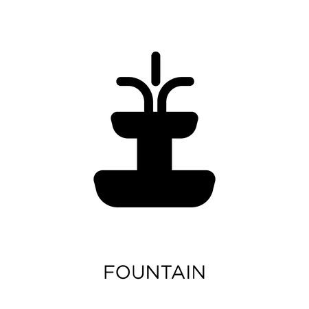 Fountain icon. Fountain symbol design from Architecture collection. Simple element vector illustration on white background. Illusztráció