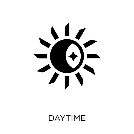 Daytime icon. Daytime symbol design from Weather collection. Simple element vector illustration on white background.