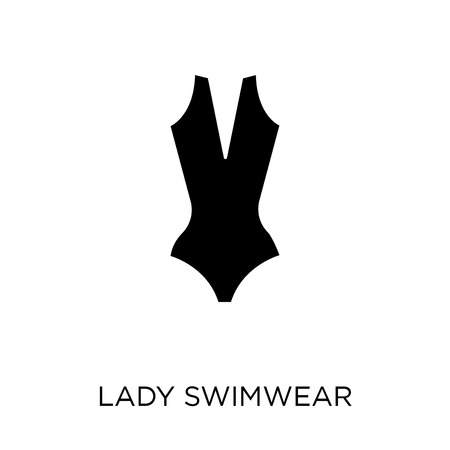Lady Swimwear icon. Lady Swimwear symbol design from Nautical collection. Simple element vector illustration on white background.