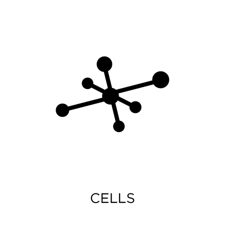 Cells icon. Cells symbol design from Science collection. Simple element vector illustration on white background.