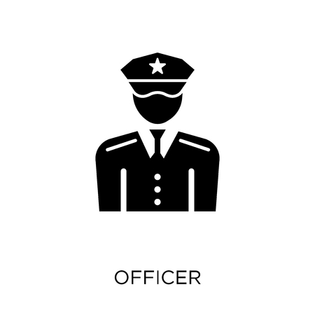 officer icon. officer symbol design from Army collection.