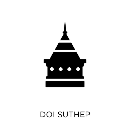 Doi suthep icon. Doi suthep symbol design from Religion collection. Simple element vector illustration on white background. Stock Vector - 111882755