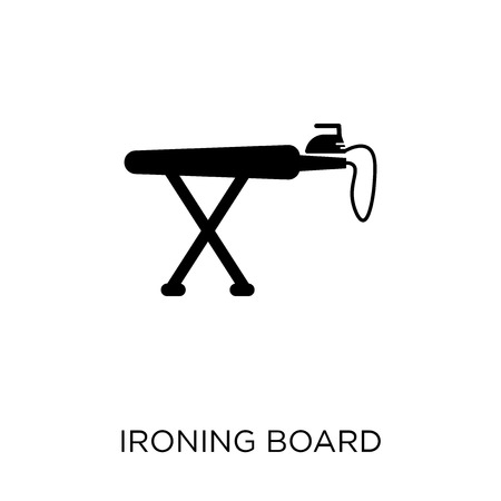 Ironing Board icon. Ironing Board symbol design from Sew collection. Simple element vector illustration on white background.
