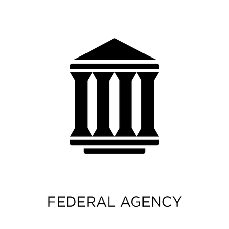 federal agency icon. federal agency symbol design from Army collection.