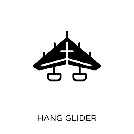 hang glider icon. hang glider symbol design from Transportation collection. Banque d'images - 111990099