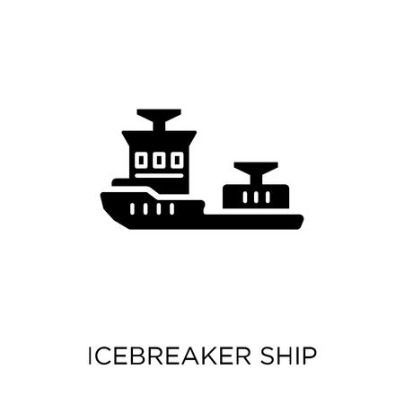icebreaker ship icon. icebreaker ship symbol design from Transportation collection.