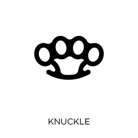 Knuckle icon. Knuckle symbol design from Army collection.