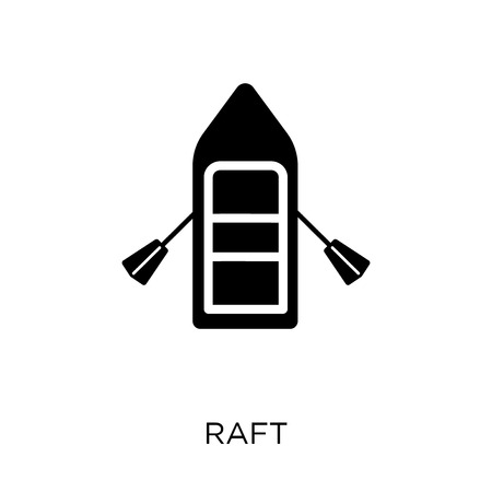 Raft icon. Raft symbol design from Nautical collection. Simple element vector illustration on white background.