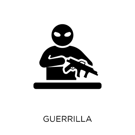 guerrilla icon. guerrilla symbol design from Army collection. Standard-Bild - 112091384