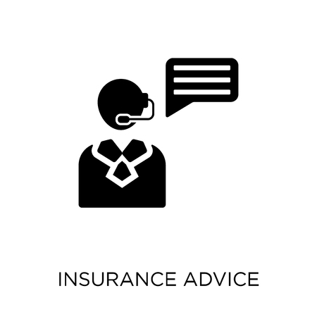 insurance advice icon. insurance advice symbol design from Insurance collection.
