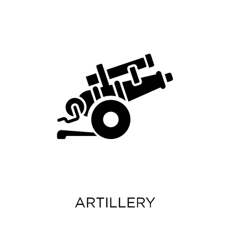 artillery icon. artillery symbol design from Army collection. Illustration