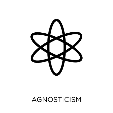 agnosticism icon. agnosticism symbol design from Religion collection. Simple element vector illustration on white background. Banque d'images - 112092621