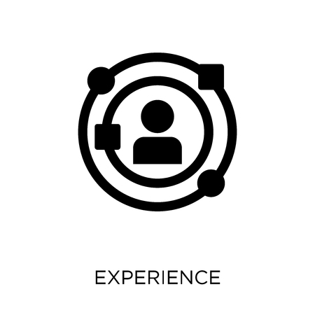 Experience icon. Experience symbol design from Startup collection. Simple element vector illustration on white background.