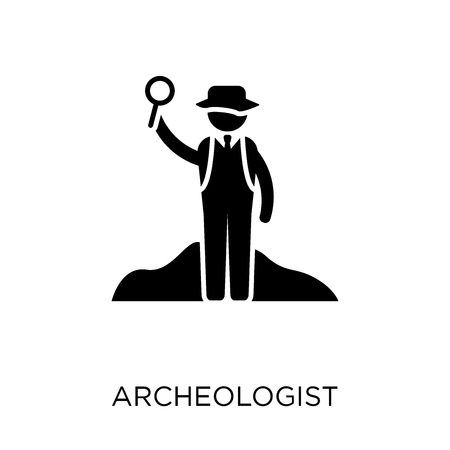 Archeologist icon. Archeologist symbol design from Professions collection. Simple element vector illustration on white background.