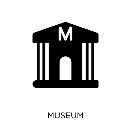 Museum icon. Museum symbol design from Museum collection. Simple element vector illustration on white background.